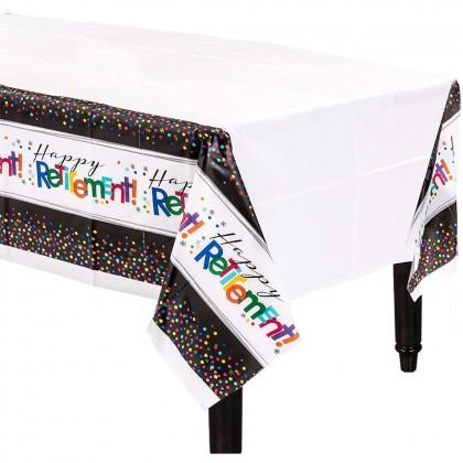 Officially Retired Plastic Table Cover