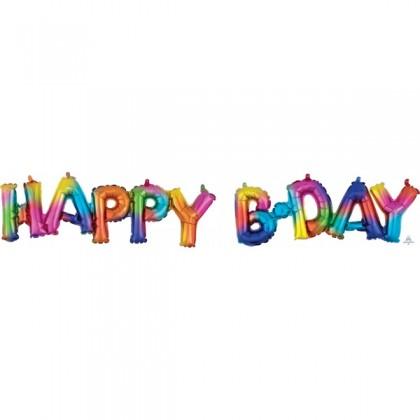 G40 (Rainbow) Block Phrase : Happy Bday