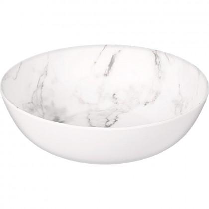 Printed Marble Bowl Large Melamine