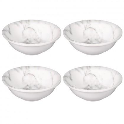 Printed Marble Bowls Small Melamine