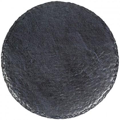 Slate Round Tray Melamine