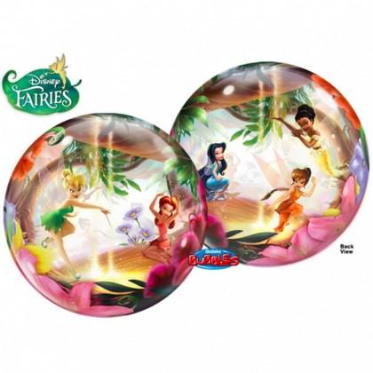 "Q 22"" Disney Fairy TinkerBell Bubble Balloon"
