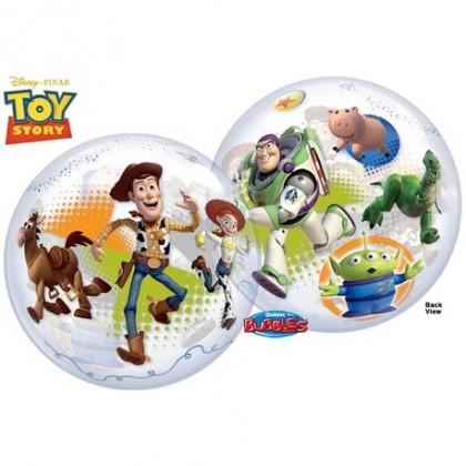 "Q 22"" Disney Toy Story Gang Bubble Balloon"