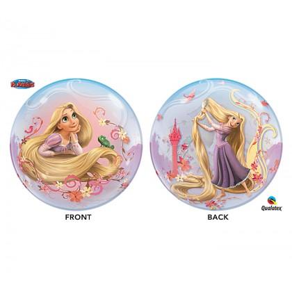 "Q 22"" Disney Tangled (Rapunzel) Bubble Balloon"