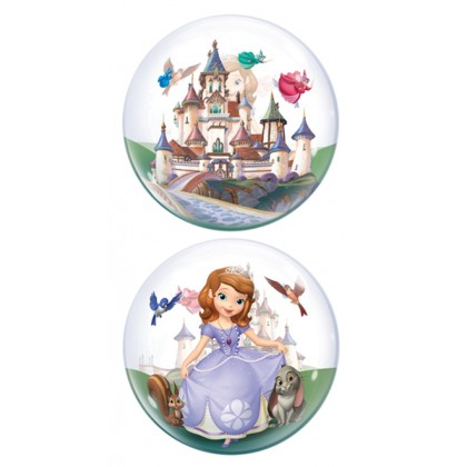 "Q 22"" Disney Sofia The First Bubble Balloon"