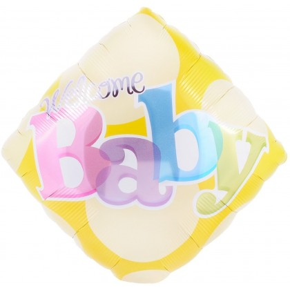 """Q 18"""" Welcome Baby"""