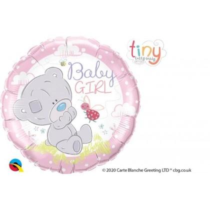 "Q 18"" Baby Girl Tatty Teddy Pink"