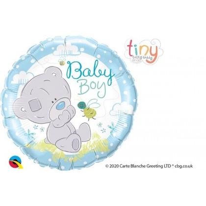 """Q 18"""" Baby Blue Tatty Teddy Blue"""