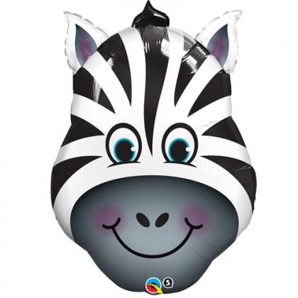 "Q 30"" Zebra Head"