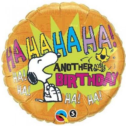 """Q 18"""" Peanuts HAHAHAHA Birthday"""