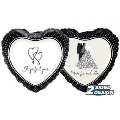 """HP 18"""" Love A Perfect Pair"""