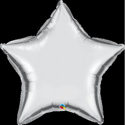 "Q 36"" Silver Star MicroFoil"