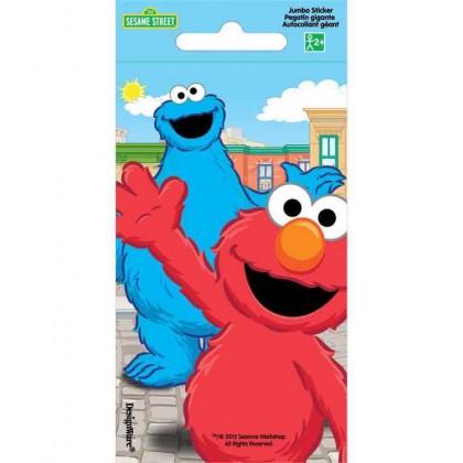 Sesame Street 2 Jumbo Sticker