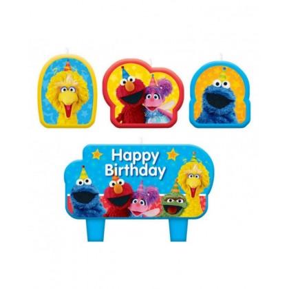 Sesame Street 2 Birthday Candle Set
