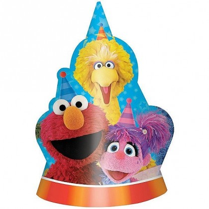 Sesame Street 2 Hats DC Paper