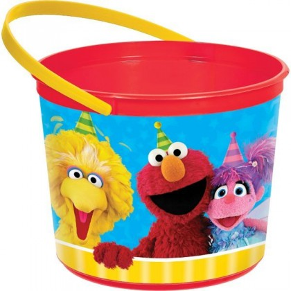 Sesame Street 2 Favor Container Plastic