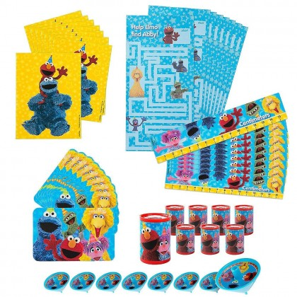 Sesame Street 2 Mega Mix Value Pack Favors