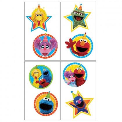 Sesame Street 2 Tattoo Favors