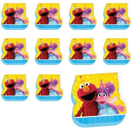 Sesame Street 2 Die Cut Notepad Favor