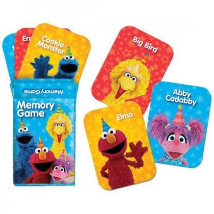 Sesame Street 2 Memory Game Favors