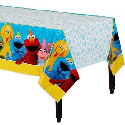 Sesame Street 2 Plastic Table Cover