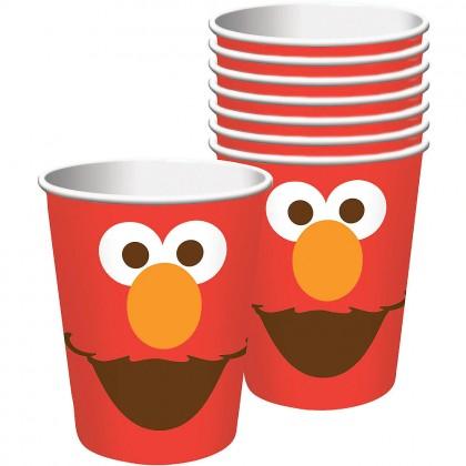 Sesame Street Elmo Turns One Cups, 9 oz.