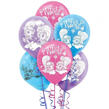 Shimmer and Shine™ Printed Latex Balloons - Asst. Colors