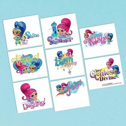Shimmer and Shine™ Tattoo Favors