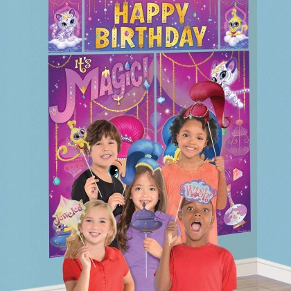 Shimmer and Shine™ Scene Setters® with Props - Plastic and Paper