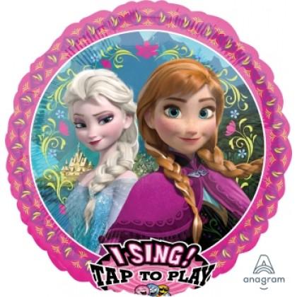 "P75 28"" Frozen Jumbo Sing-A-Tune® XL® Foil Balloon"
