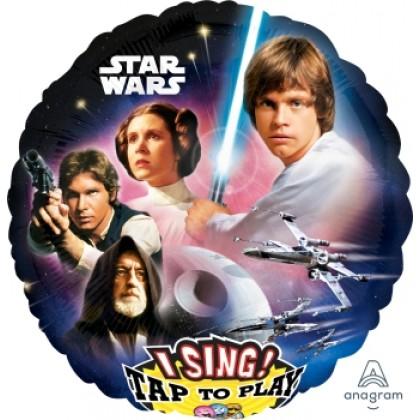 "P75 28"" Star Wars Jumbo Sing-A-Tune® XL® Foil Balloon"