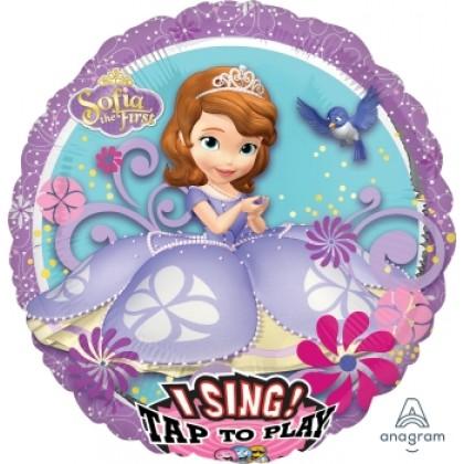 """P75 28"""" Sofia the First Jumbo Sing-A-Tune® XL® Foil Balloon"""