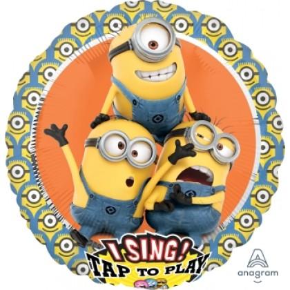 "P75 28"" Despicable Me Group Jumbo Sing-A-Tune® XL Foil Balloon"