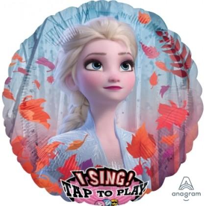 "P75 28"" Frozen Elsa Jumbo Sing-A-Tune® XL® Foil Balloon"