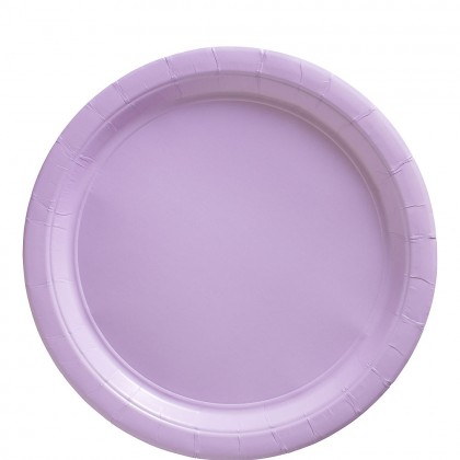 Paper Plates 9 in Lavender