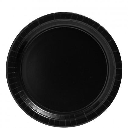 Paper Plates 9 in Jet Black