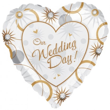 "S40 17"" Our Wedding Day! Standard HX®"