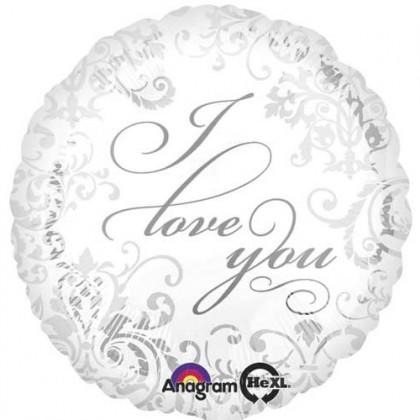 "S40 17"" Damask Love You Standard XL®"