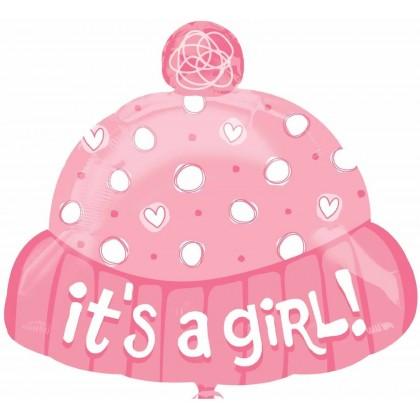 "S50 18"" It's A Girl Hat Junior Shape XL®"