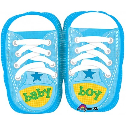 "S50 22"" Baby Boy Sporty Blue Kicks Junior Shape XL®"