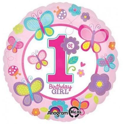 "S40 17"" Sweet Birthday Girl Standard HX®"