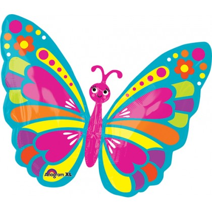 "S50 26"" Happy Spring Butterfly Junior Shape XL®"