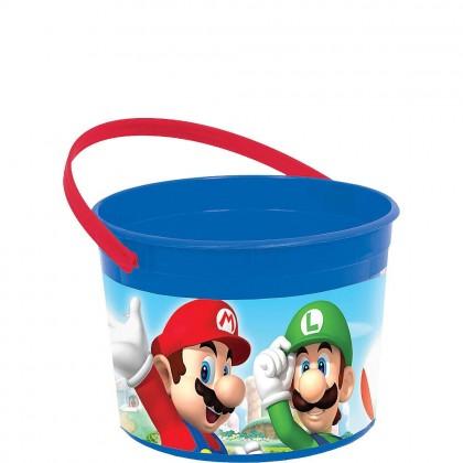 Super Mario Brothers™ Favor Container - Plastic
