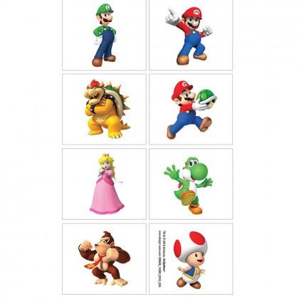 Super Mario Brothers™ Tattoo Favors