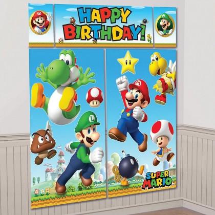 Super Mario Brothers™ Scene Setters® w/Props