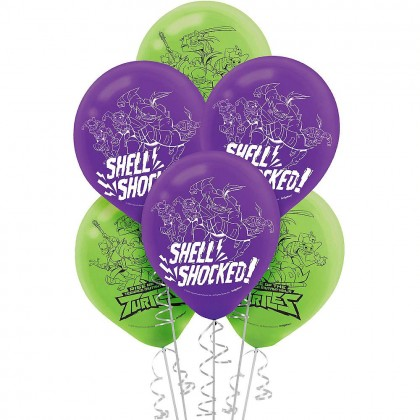 Rise Of The TMNT ™ Printed Latex Balloons - Asst. Colors