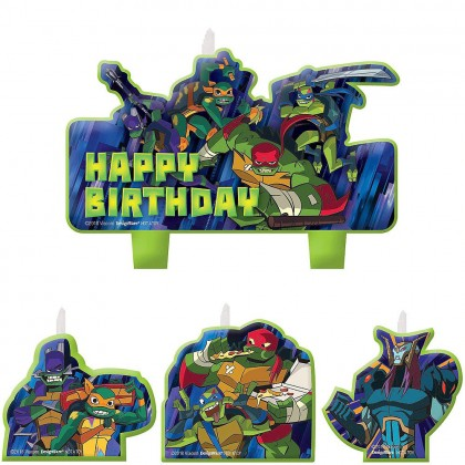 Rise Of The TMNT ™ Birthday Candle Set
