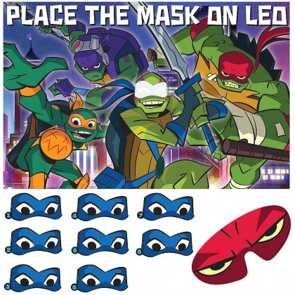 Rise Of The TMNT ™ Party Game - Paper