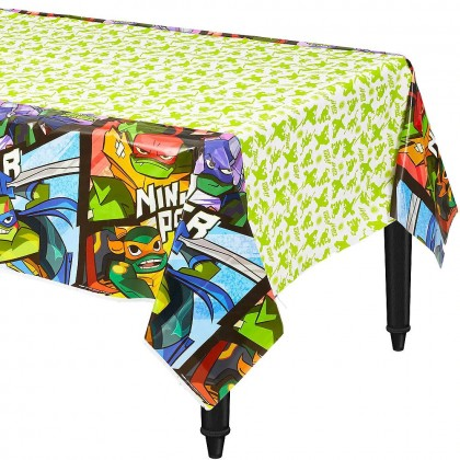 Rise Of The TMNT ™ Plastic Table Cover