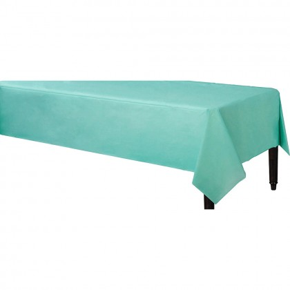 Table Cover 3 ply Robins Egg Blue